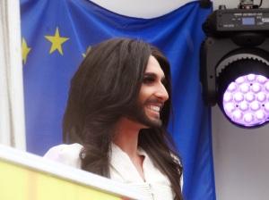 Conchita Wurst @Brussels Parliament - copyright Marie-Pierre Sokal