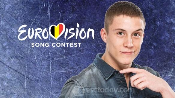 Loïc Nottet, représentant belge du Concours Eurovision de la Chanson 2015