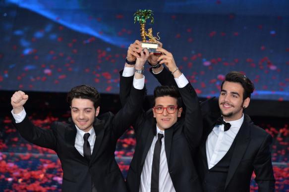 "Le trio lyrique ""Il Volo"" a remporté le festival de San Remo 2015"