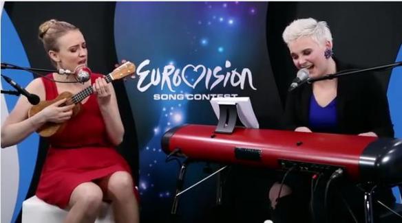 "Elaiza chante ""Rhythm Inside"" de Loïc Nottet"