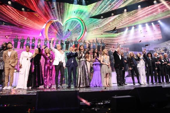 Eurovision Greatest's hits - Soirée du 60ème anniversaire du Concours Eurovision de la Chanson - BBC 2015