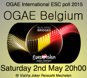 OGAE Belgium - 2/5/2015