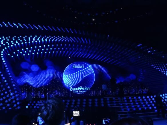 Eurovision 2015 - la scène de Vienne