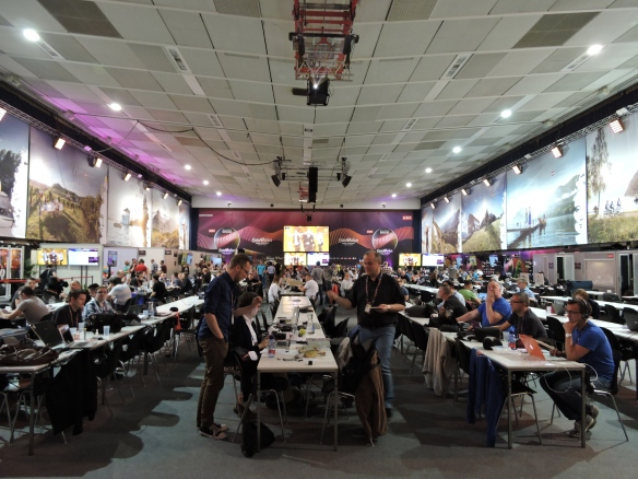 Vienna 2015 - The press room