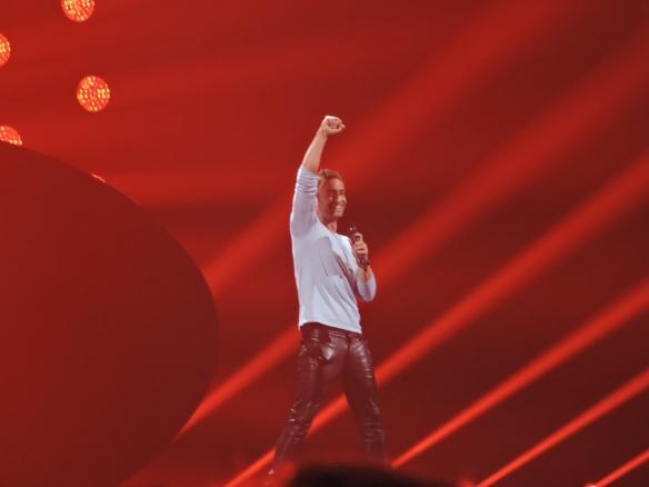 Måns Zelmerlöw - gagnant du Concours Eurovision 2015 pour la Suède - Crédit photo: Vincent Bayer @eurovisionlovers.wordpress.com