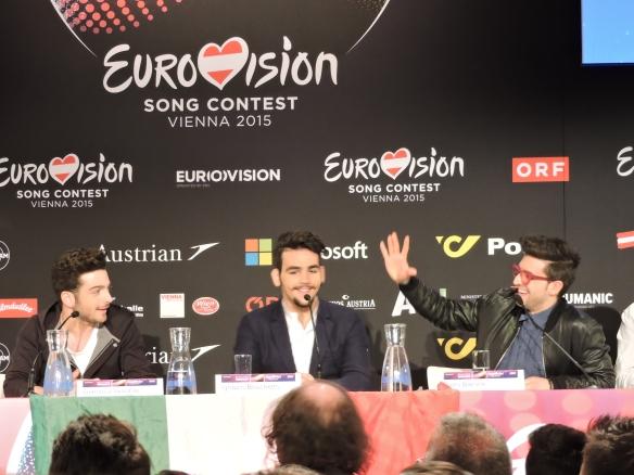 Il Volo- Conférence de presse à Vienne - 17-05-2015