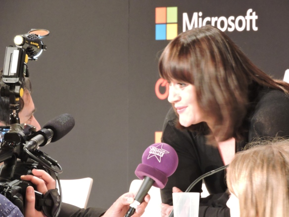 Lisa Angell Conférence de presse ESC 2015