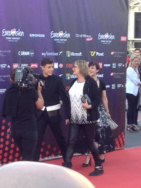 Loïc & BJ, red carpet