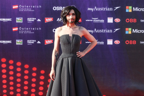 Conchita Wurts @ESC opening ceremony