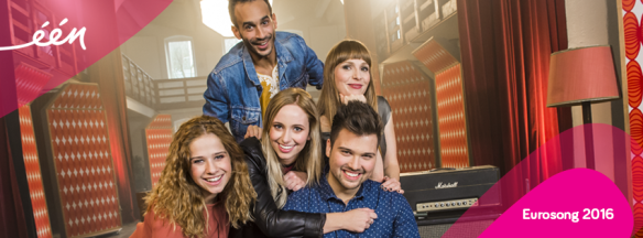 Les 5 candidats belges - Eurovision 2016